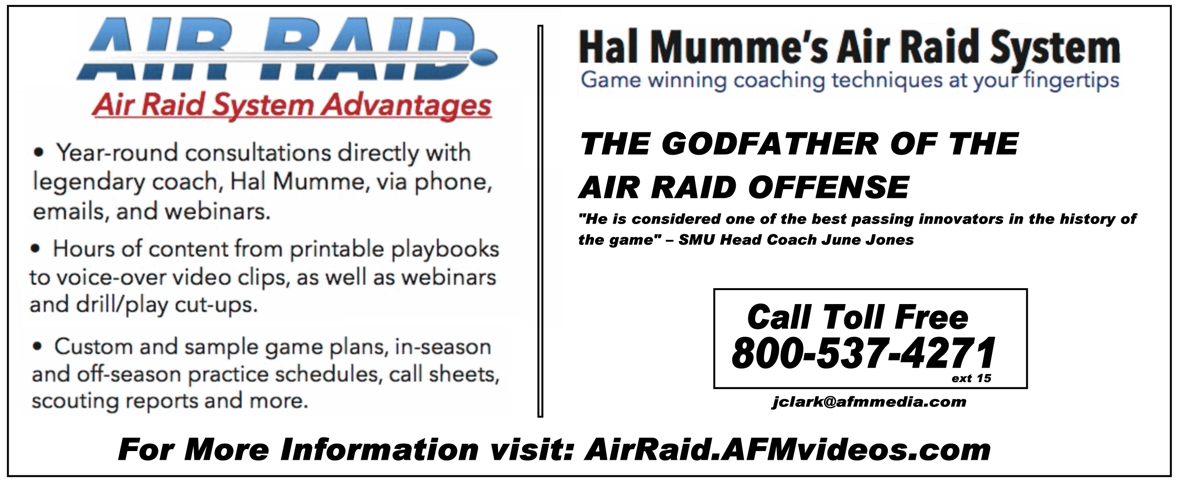 Air Raid Offense Information
